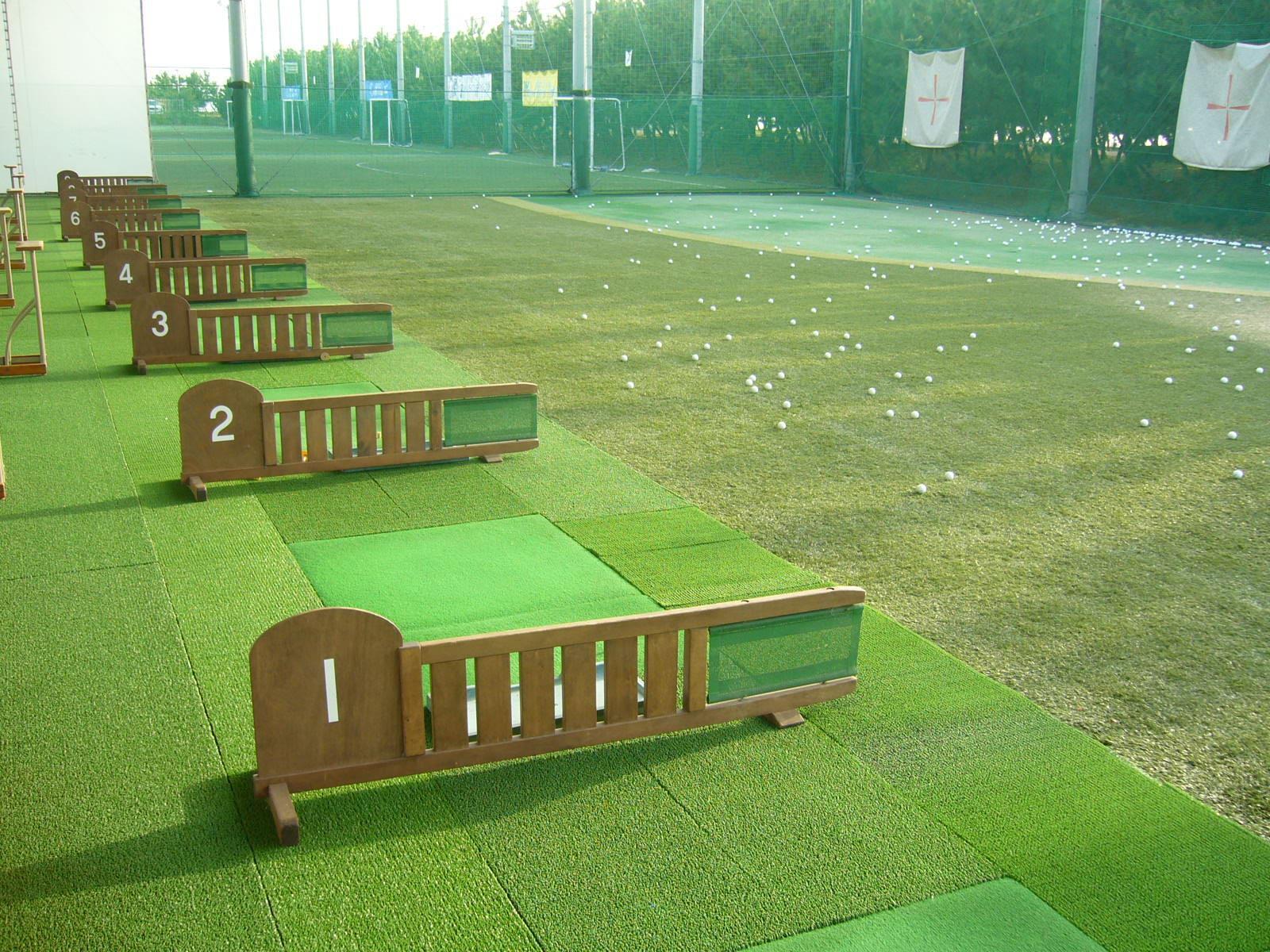 コンパクトなゴルフ練習場